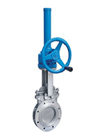 Bevel Gear Slurry Knife Gate Valve